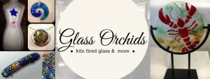 Banner image for relaunch of Glass Orchids.