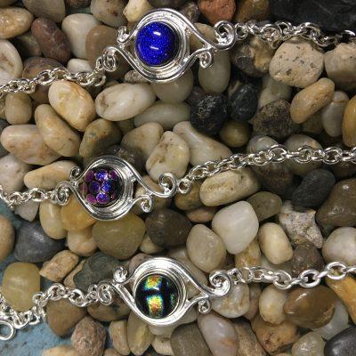 OH Snaps!™ Silver Bracelets
